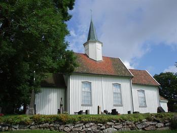 Bilde av Hovin kirke