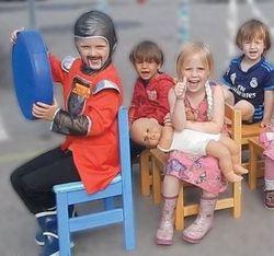 Utdrag fra film barn i Torva barnehage