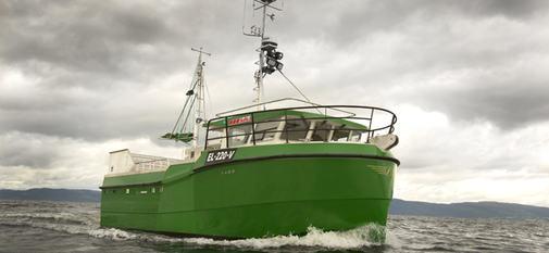 NEK Karoline er verdens første elektriske fiskefartøy crop