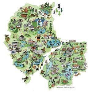 Illustrert kart