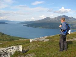 Utsikt over Balsfjorden