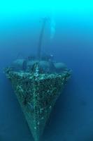 Dronning Maud i blått hav