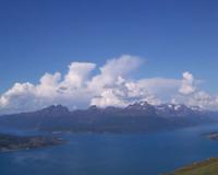 Astafjorden med Andørja i bakgrunnen