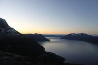 Astafjorden. Bildet er tatt fra Tvillingsvannan