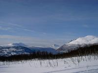 På skitur på Soløy I