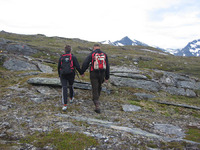 På vei mot Årsteinhornet