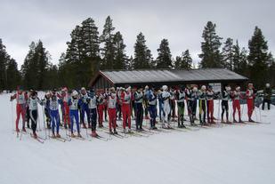 Fra starten ved Sølenstua i 2010. (Foto: Foto: Bjarne Bentzen)