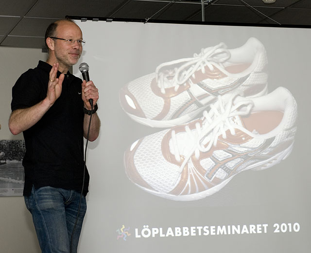 Løping med eller uten sko? KONDIS norsk organisasjon