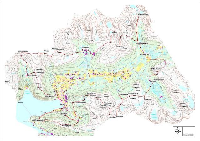 kart hornindal Hornindal Rundt   KONDIS   norsk organisasjon for kondisjonsidrett  kart hornindal