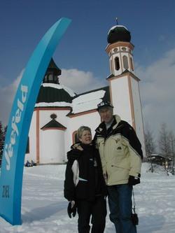 Ragnhild og Harald i Seefeld