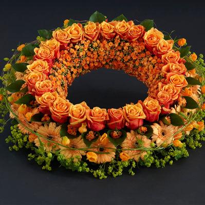 Interflora_sorgkrans_orange