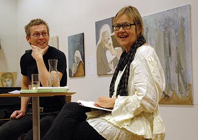 Tua Forsstrøm og Roy-Frode Løvland