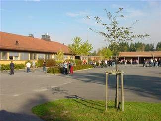 Skolegård - ungdomsskolen