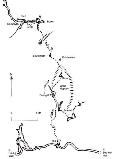 Linnekleppen kart, Fotograf: Ulf Harry Evensen