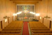 Båtsfjord kirke innvendig