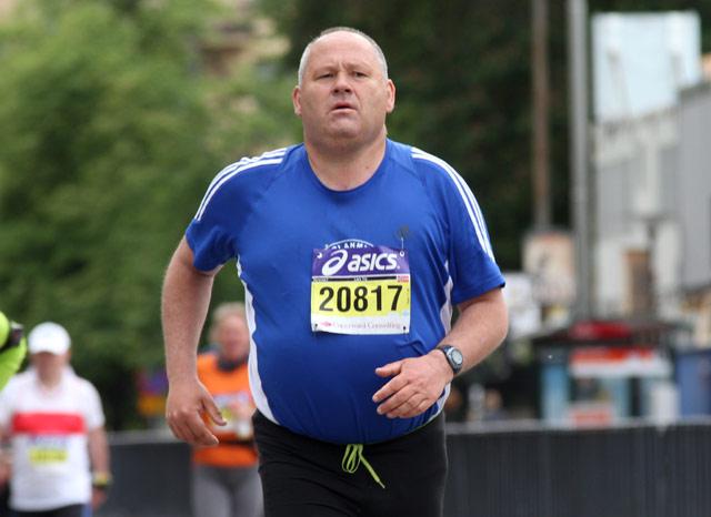 Lars Try under Asics Stockholm maraton 2011