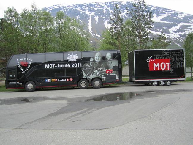 MOT-bussen i Balsfjord