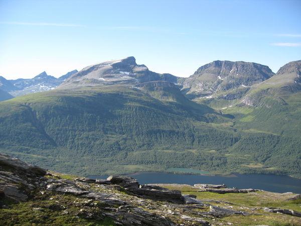 Utsikt mot Blåtind