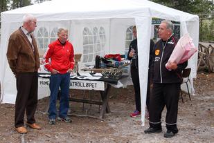 Tre meget sentrale personer i Femundløpets historie ved 40-årsjubiléet i 2007 (fra venstre): Magne Martinsen, IL Trysilgutten,  Bjørn Tvedt, Veldre Friidrett - og Mr. Ren-Eng, Bo Berndtsson.