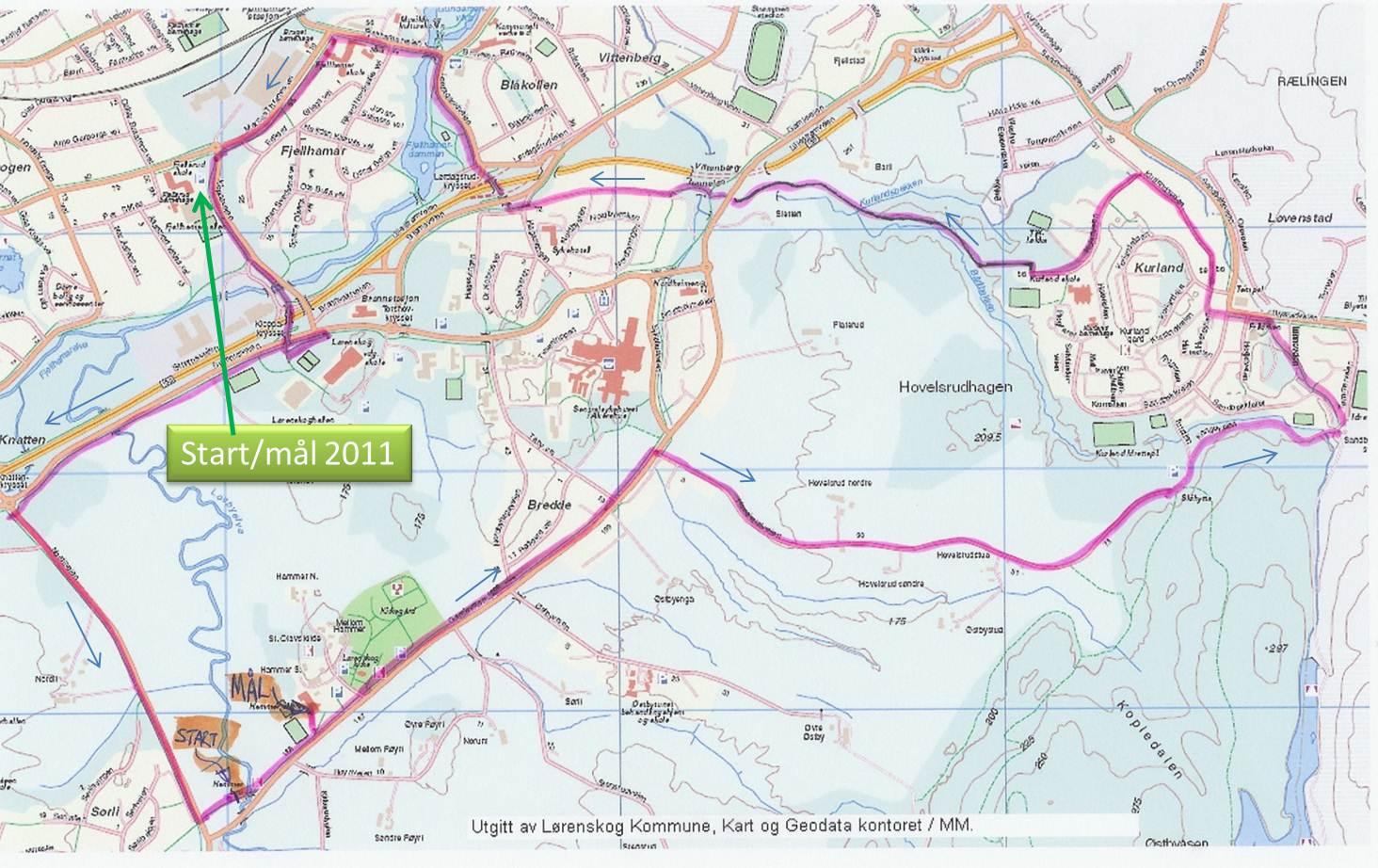 kart over lørenskog Lørenskog Halvmaraton 29.oktober   KONDIS   norsk organisasjon for  kart over lørenskog