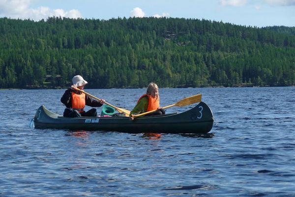 Kanotur på Rømsjøen