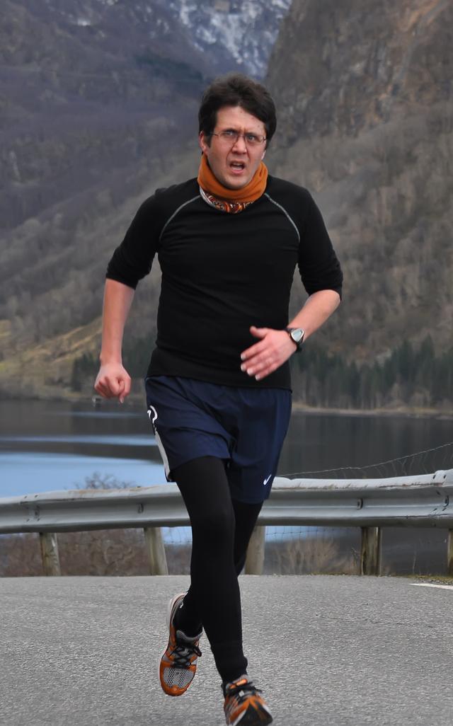 Frank Ivan Knutsen trufast deltakar