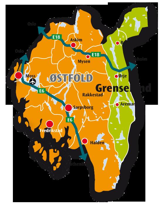 aremark kart Bo i Grenseland   ny nettside   Rømskog kommune aremark kart