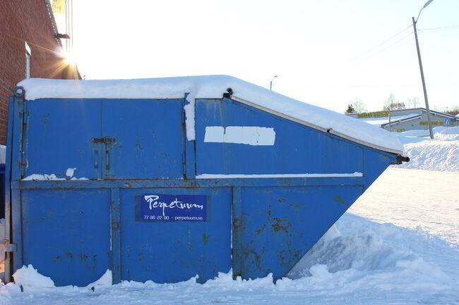 Fjerning av søppelkontainere
