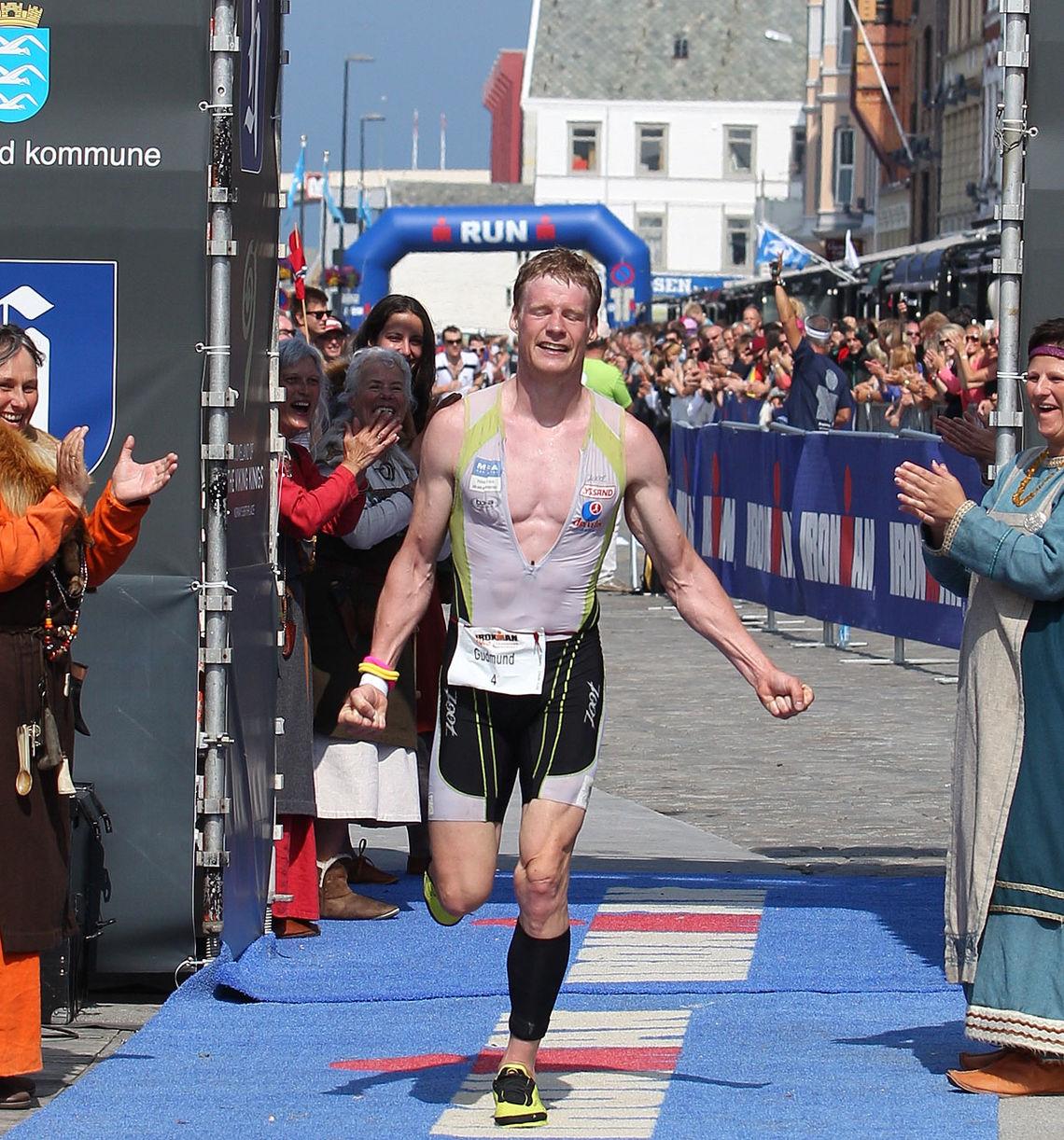 Bildet: Gudmund Snilstveit ble beste norske deltaker