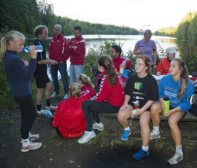 Fra Borredalen Rundt 11.september 2012. Foto: Bjørn Johannessen