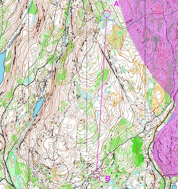 kart over lillomarka Lillomarka Nord Syd   KONDIS   norsk organisasjon for kondisjonsidrett kart over lillomarka