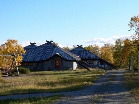 Bilde av Stabbursnes Naturhus og Museum sett fra nord