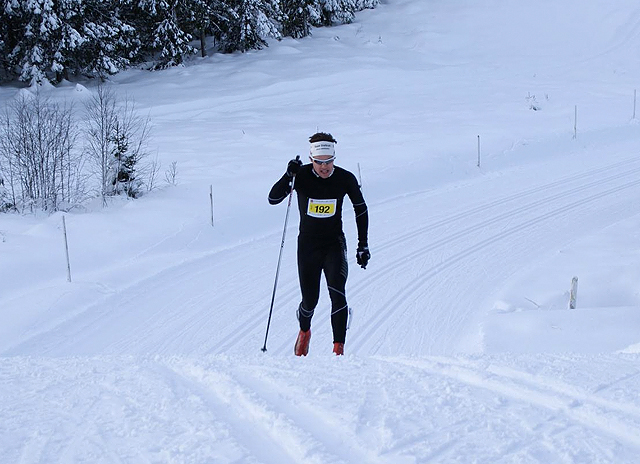 1. plass 42,5 km: Thomas Gifstad, Oppegård IL
