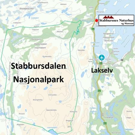 kart over lakselv Stabbursdalen må oppleves!   Porsanger kommune kart over lakselv