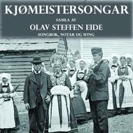 Cd-cover Kjømeistersongar