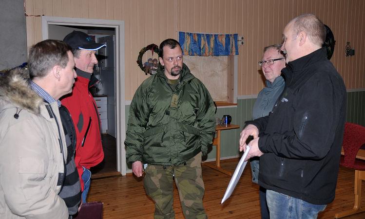 Skytefeltsleder Klokkerhaug og grunneiere