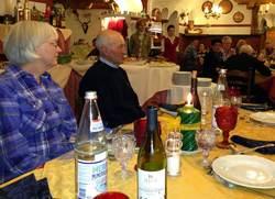 Inger og Franco Nones på middag hos skilauget_750x542
