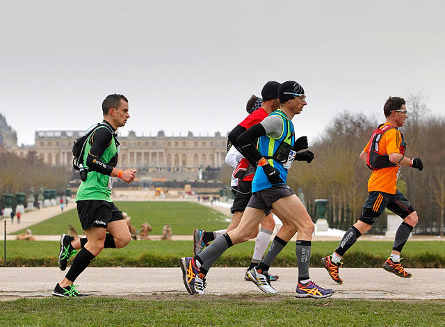 Bilde fra Ecotrail de Paris 2013, (foto: Anthony Chaumontel). Vi håper å komme tilbake med bilder fra årets løp senere.