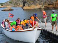 Ferie på Eidene i båt