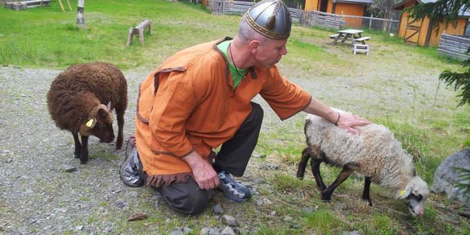 Vikingleiren på Heia Merket i Valdres