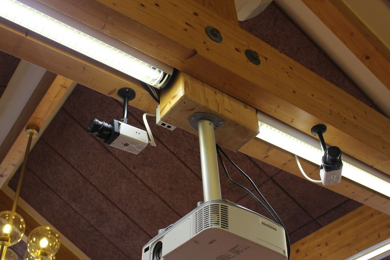 Kamera i taket