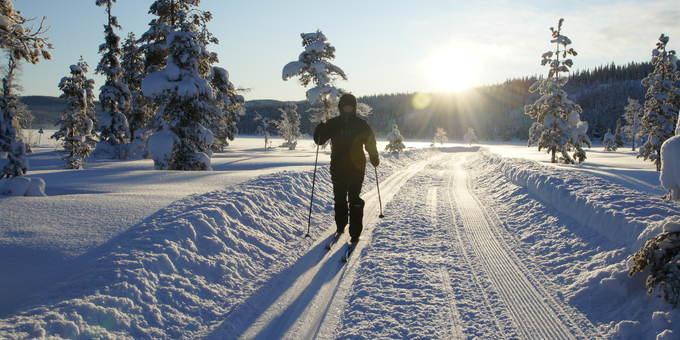 Skitur på Heia Merket