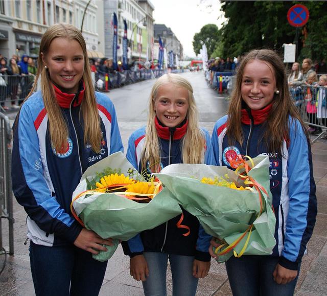 norske piker Harstad