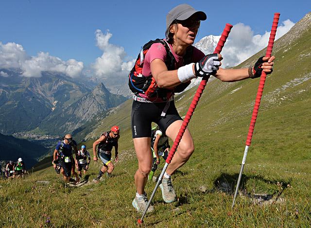 UTMB 2013CCC1ere Caroline Chaverot© The North Face¨ Ultra-Trail du Mont-Blanc¨ - Pascal Tournaire