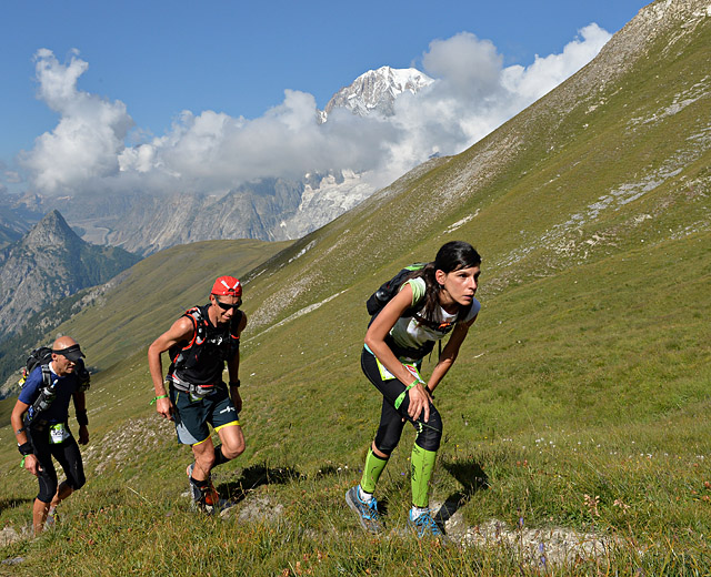 UTMB 2013CCC2eme Mercedes Arcos Zafra© The North Face¨ Ultra-Trail du Mont-Blanc¨ - Pascal Tournaire