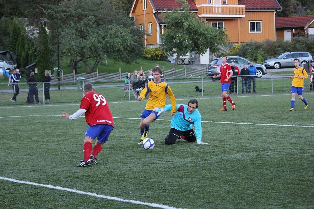 Jonas blank goal