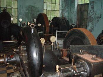 gamle turbiner i Smalelvamuseet