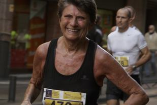 Vera Nystad har med 3.38.41 fra Reykjavik Marathon i august årets beste løp blant kvinner (Arkivfoto).