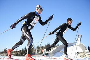 Holmenkollmarsjen er det største av turrennene som arrangeres i helga. (Arkivfoto: Bjørn Johannessen)