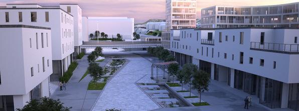 Områdeplanen for Knarvik sentrum skal til andre gangs handsaming i Plan og miljøutvalet onsdag 18. juni 2014.